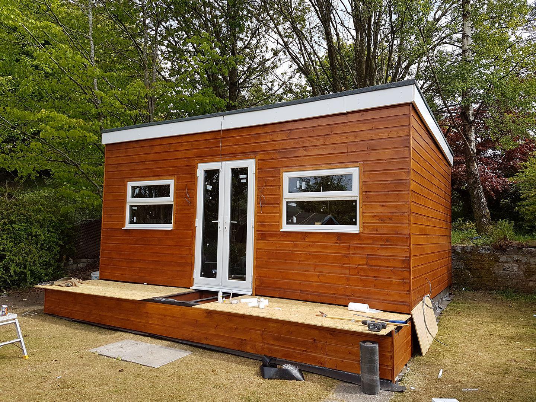 My self build garden office